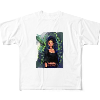 Who caught in a tree Full graphic T-shirts