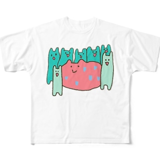 カコマレーズ Full graphic T-shirts