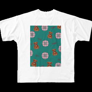 h00n00byhononneのH00N00byhonome🧠🧸 Full graphic T-shirts