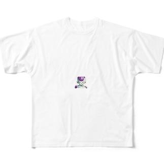 フリーザ様 Full graphic T-shirts