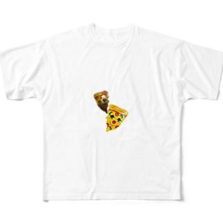 ペパロニピザ Full graphic T-shirts