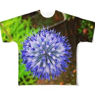 ヒゴタイ       Full graphic T-shirts