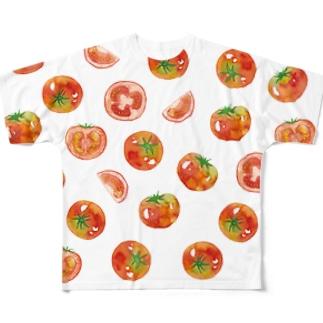 トマT Full graphic T-shirts