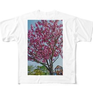 flowertree Full graphic T-shirts