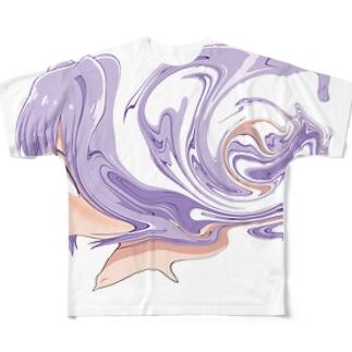 (๑•ૅㅁ•๑) Full Graphic T-Shirt