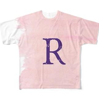 R×サクラ Full graphic T-shirts