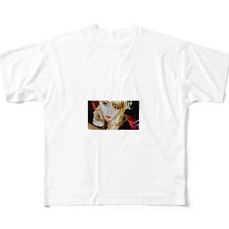 オムライスの美味しいお店のマスター Full graphic T-shirts