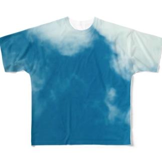 近所のお空 Full graphic T-shirts