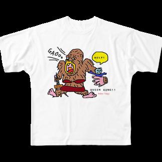 くまごんたのactive tokyo Full graphic T-shirts