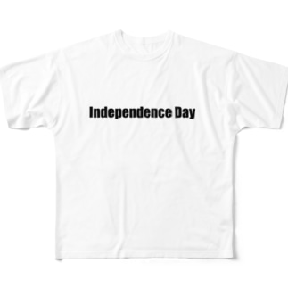 independence day Full graphic T-shirts