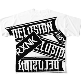 DELUSION Full graphic T-shirts