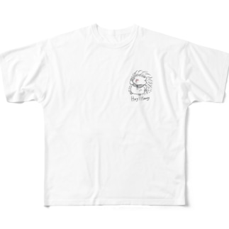 hey!harry! Full graphic T-shirts