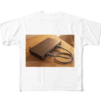 ITエンジニア ネットワークループ  Full graphic T-shirts