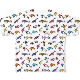 ルアーコレクション Full graphic T-shirts