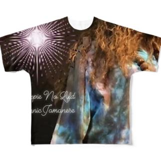 MixEthnicJamanese オリジナル Full graphic T-shirts