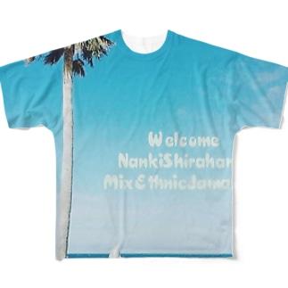 MixEthnicJamanese Full graphic T-shirts