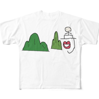 山﨑 Full graphic T-shirts