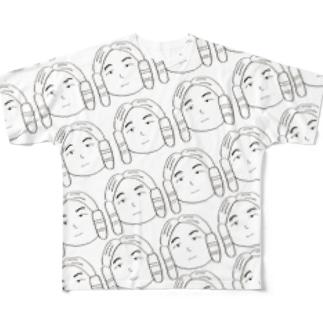 けらいくん Full graphic T-shirts