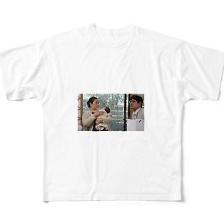 TOMITA Full graphic T-shirts