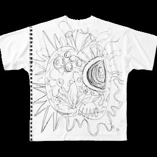 まみたろう(プッピーズとMamitaro)のパプリカ Full graphic T-shirts