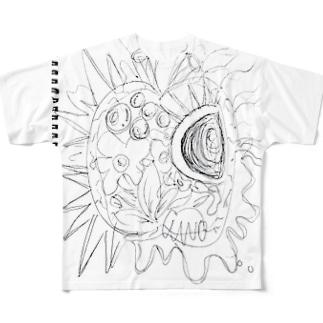 パプリカ下書き Full graphic T-shirts