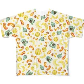 今日はシチューの日(シチュー)其の一 Full graphic T-shirts