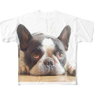 ふれぶるルーくん Full graphic T-shirts