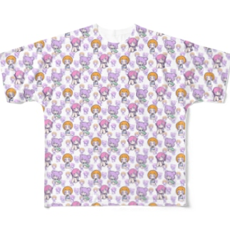 POPJK Full graphic T-shirts