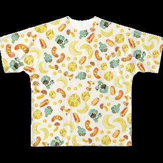 照福商店の 今日はシチューの日(シチュー)其の二 Full graphic T-shirts