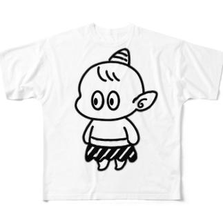 コオニ Full graphic T-shirts