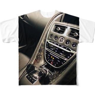 マセラティとグラサン Full graphic T-shirts