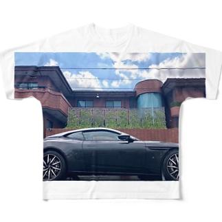 マセラティと家 Full graphic T-shirts