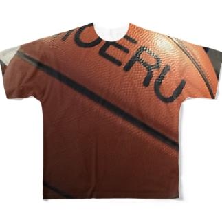 バスケットボールMOERU Full graphic T-shirts