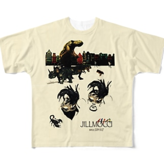 JILLMOCCI Full graphic T-shirts