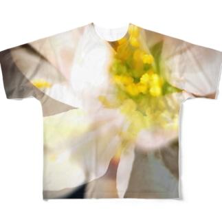 桜咲く Full graphic T-shirts