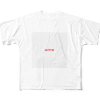 何言ってんのか分からん 頭冷やせ Full graphic T-shirts