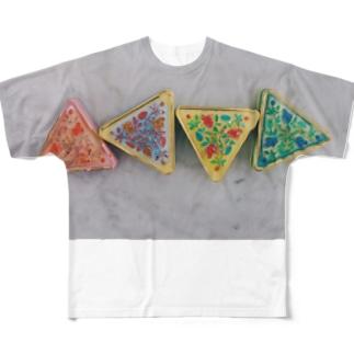 rose4 Full graphic T-shirts