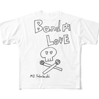 Band内Love Full graphic T-shirts