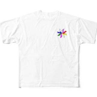 B-F-SH-a Full graphic T-shirts
