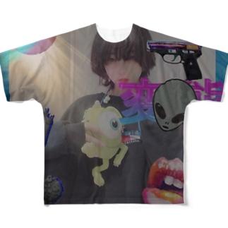 vaporwave me Full graphic T-shirts
