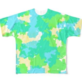 Dripping Drop フルグラフィックTシャツ