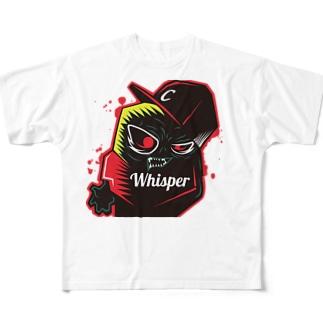ウィスパー All-Over Print T-Shirt
