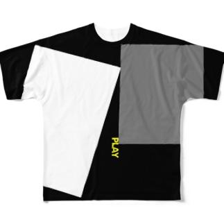 PLAY FULL BLOCK Full graphic T-shirts