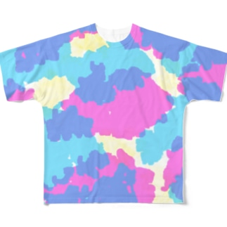 Dripping Drop Full graphic T-shirts