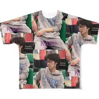 健太アロハシャツ Full graphic T-shirts