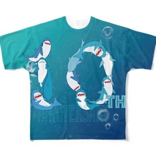 10thSAMEFT フルグラフィックTシャツ