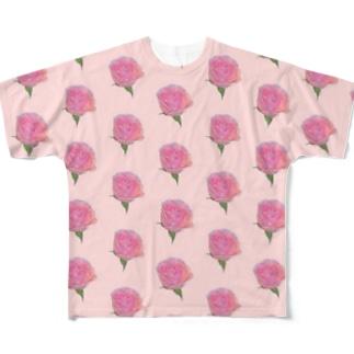 バラ Full Graphic T-Shirt