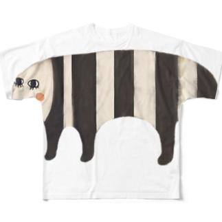 ハナノアナ All-Over Print T-Shirt