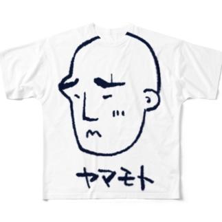 ヤマモト All-Over Print T-Shirt