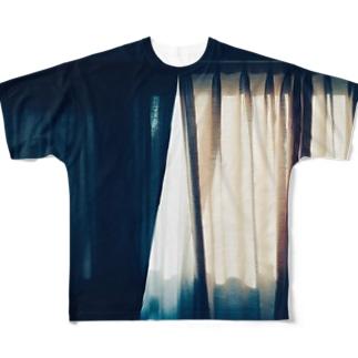 カテン Full graphic T-shirts